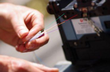 installation de fibre optique