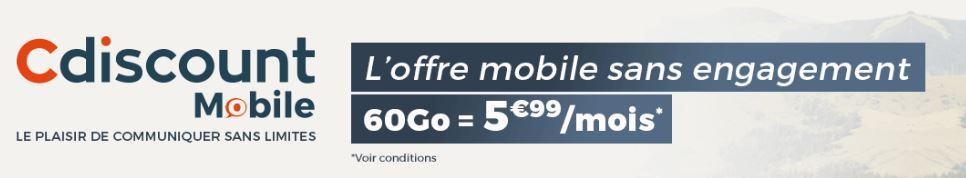 promo forfait c discount 60 go